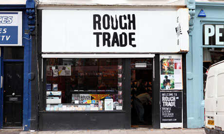 The Rough Trade shop on Talbot Road, London.