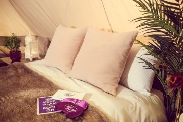 Hotel+Bell+Tent+Accommodation+VIP+Package