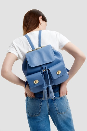 Backpack Blue 2